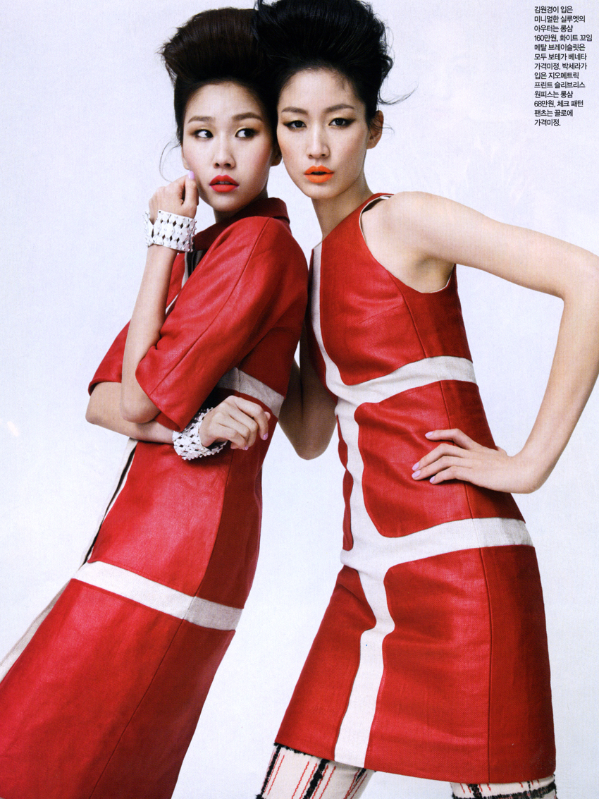 Sera park and Kim Won Kyung by lim Han Soo for Singles Korea feb 2013_2