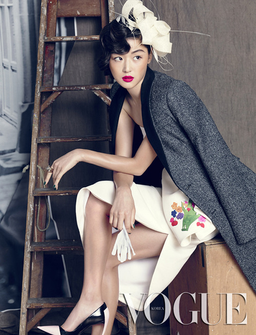 Jeon Jihyun by Hong Janghyun for Vogue Korea September 2013