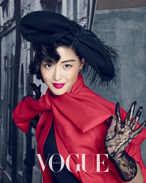 Jeon Jihyun by Hong Janghyun for Vogue Korea September 20132