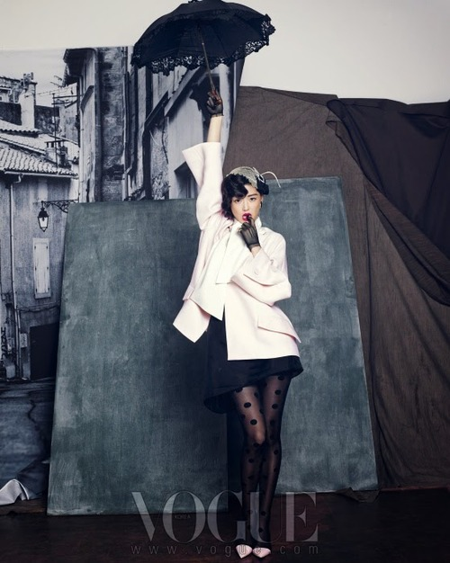 Jeon Jihyun by Hong Janghyun for Vogue Korea September 20134