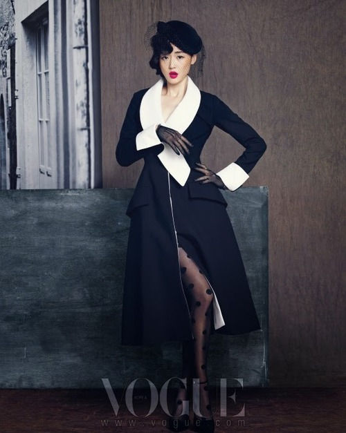 Jeon Jihyun by Hong Janghyun for Vogue Korea September 20137