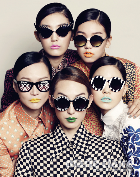 Lee Hyejung, Ahn Jaehyeon, Choi Junyoung, Jin Jungsun, Jang KiYong, Kim Hansu, Lee Hojeong, Kim Wonkyung, Hye Park, Kim HyeonJun by Zoo Young Gyun for Marie Claire Dec 20125