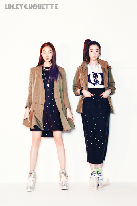Song Haena, Go Sohyeon and Irene Kim for Lucky Chouette Spring 2013 campaign10
