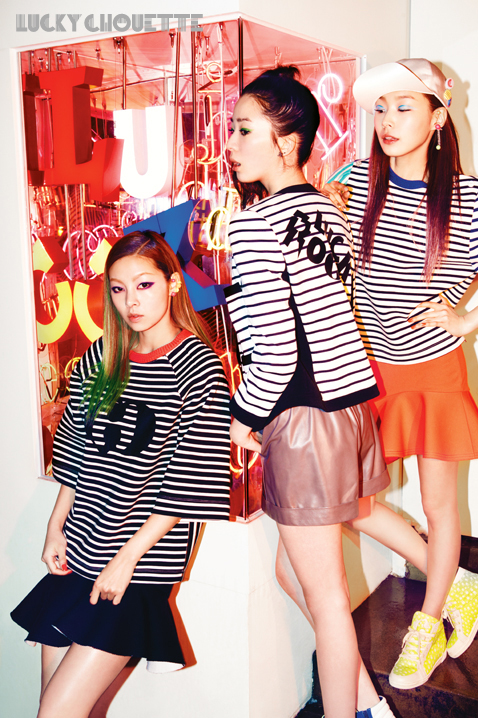 Song Haena, Go Sohyeon and Irene Kim for Lucky Chouette Spring 2013 campaign5