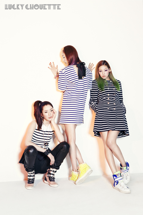 Song Haena, Go Sohyeon and Irene Kim for Lucky Chouette Spring 2013 campaign8