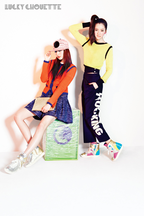 Song Haena, Go Sohyeon and Irene Kim for Lucky Chouette Spring 2013 campaign9
