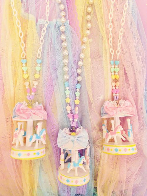 carousel jewelry kawaii
