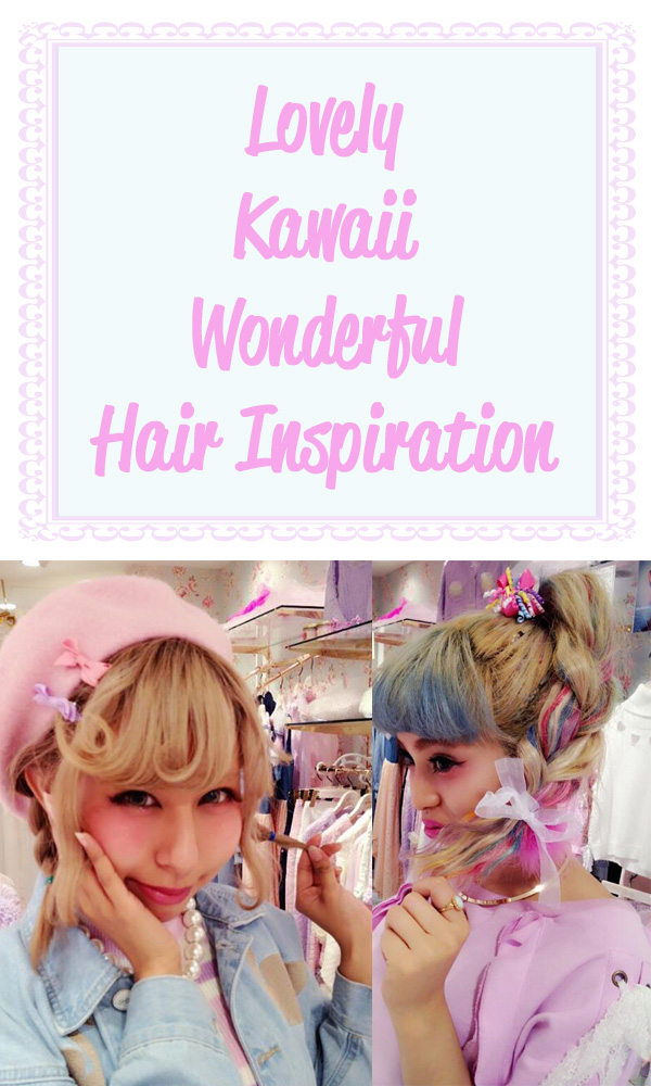 kawaii hair