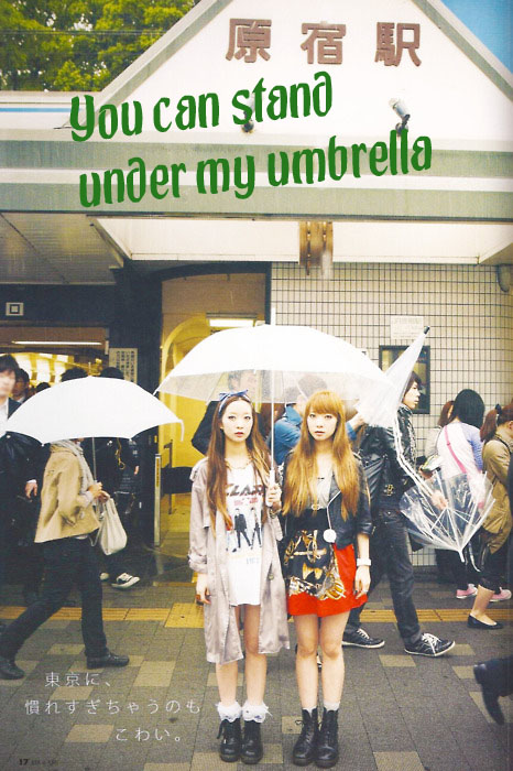 umbrella copy