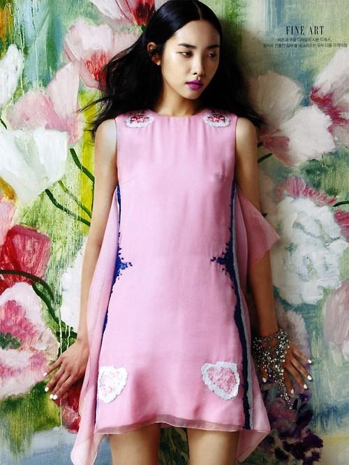 Kwak Jiyoung for Sure Korea June 20133
