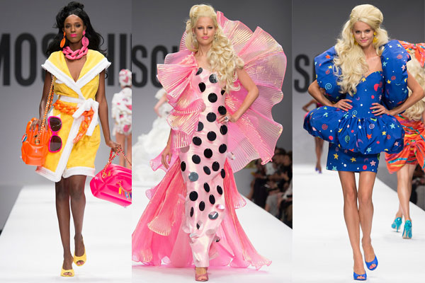 Moschino Barbie Fashion Show sev moschino show lgn